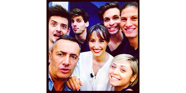 selfie-squadra-blu-con-benedetta-parodi