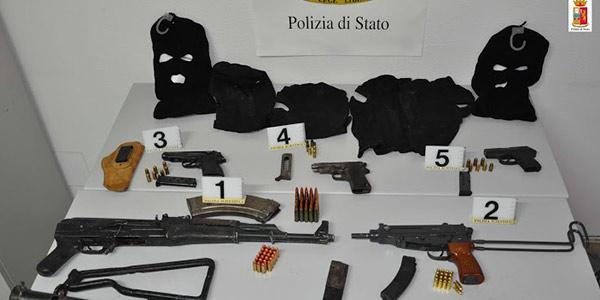 armi-sequestro-catania-biancavilla