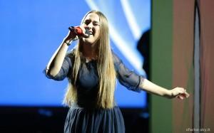 ilaria canta get lucky