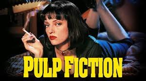 Pulp Fiction, Quentin Tarantino, John Travolta, Samuel L. Jackson, Uma Thurman, Vincent Vega, Christopher Walken