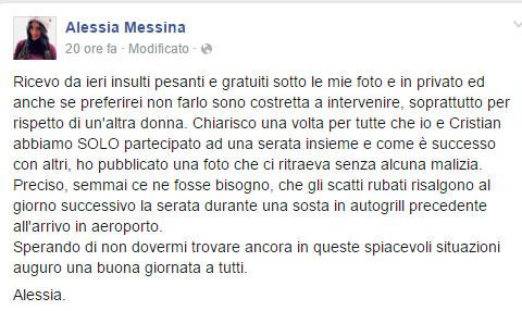 alessia-messina-su-facebook-smentisce-storia-con-cristian