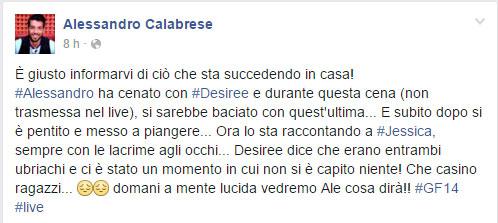 gossip-grande-fratello-14-alessandro-calabrese-bacia-desiree-e-poi-piange-post-su-facebook-1