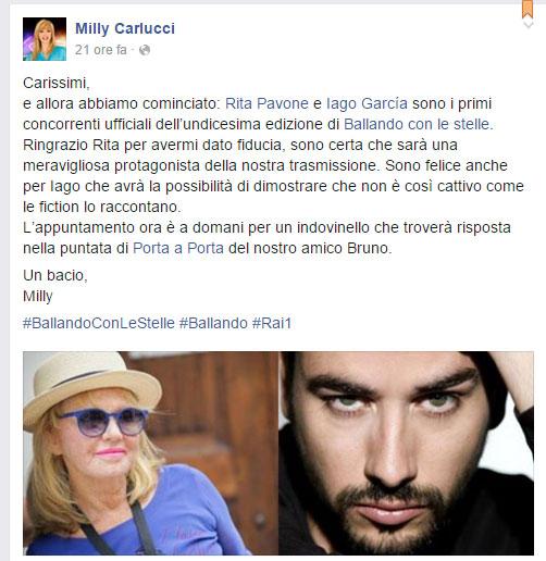 milly-carlucci-primi-due-concorrenti-rita-pavone-e-iago-garcia