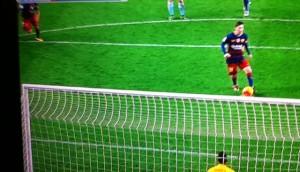 Messi rigore Suarez