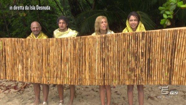 isla desnuda isola dei famosi 21 marzo