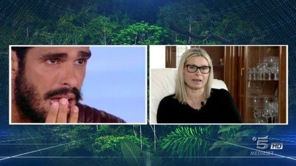 cristian video messaggio della madre isola dei famosi 9 maggio