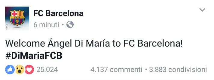 Di Maria, Barcellona