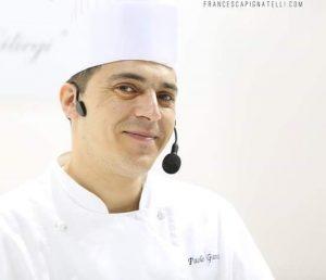 Piatto da chef, ricetta, ricette, chef, Paolo Ganci, Lasagnetta di Baccalà, come preparare una lasagnetta, ingredienti, procedimento, cucina, preparazione, cibo, lasagnetta di baccalà, Savona, Liguria, Associazione cuochi di Savona,