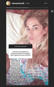 elena santarelli polemica su instagram