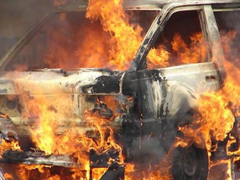 incendiata auto vigile urbano di finale di pollina rosario macaluso