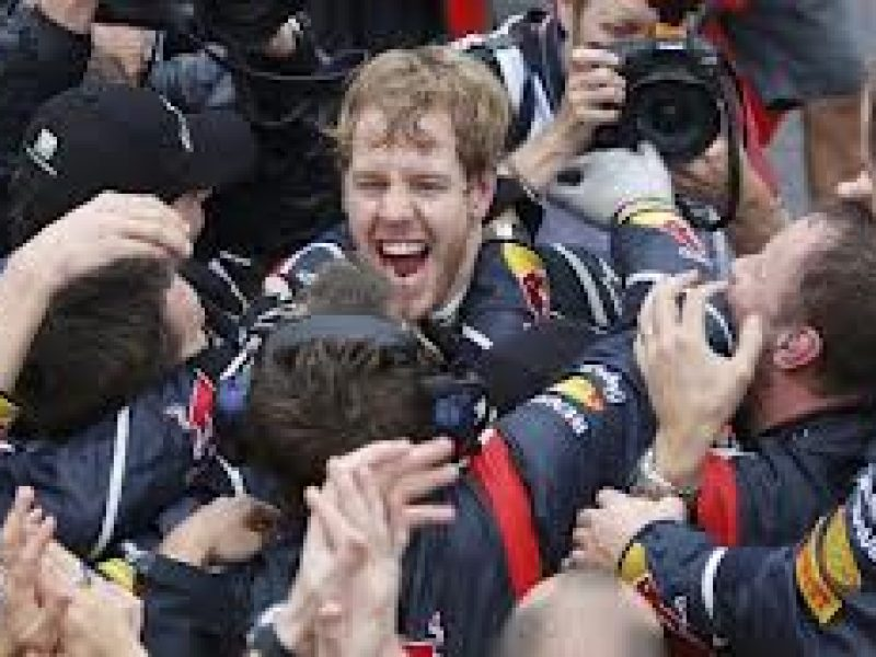 Sebastian vettel Red Bull campione del mondo