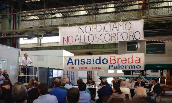Ansaldo Breda, vertice in Prefettura a Palermo | Dal 7 gennaio operai in cassa integrazione