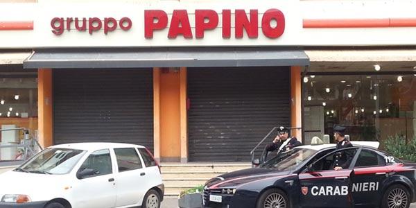 Furto al papino expert di via ugo la malfa si24 for Papino arredi catania