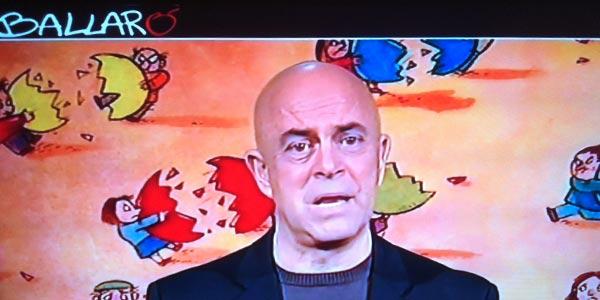 """La copertina di Crozza a Ballarò: """"Siamo il Bel Palese"""""""