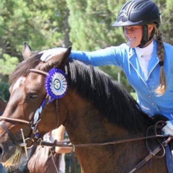 Emilia Bignardelli, Giuseppe e Gabriele Carrabotta al primo Csi giovanile italiano di equitazione
