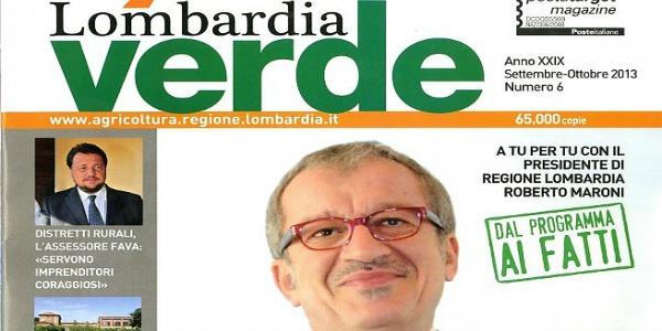 Lombardia-Verde, il giornale di Roberto Maroni