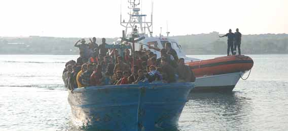 Malta, soccorso un barcone con 120 migranti