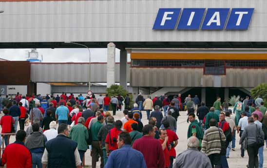Lavoratori Fiat tornano in piazza a Palermo | Venerdì incontreranno il presidente Crocetta