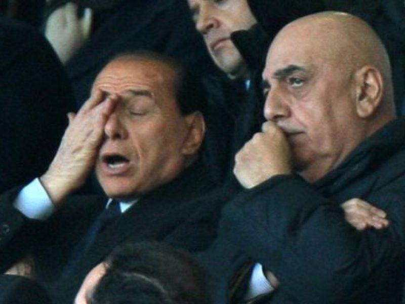 berlusconi intervista, berlusconi frecciata a galliani, mihajlovic rimane se vince la coppa italia