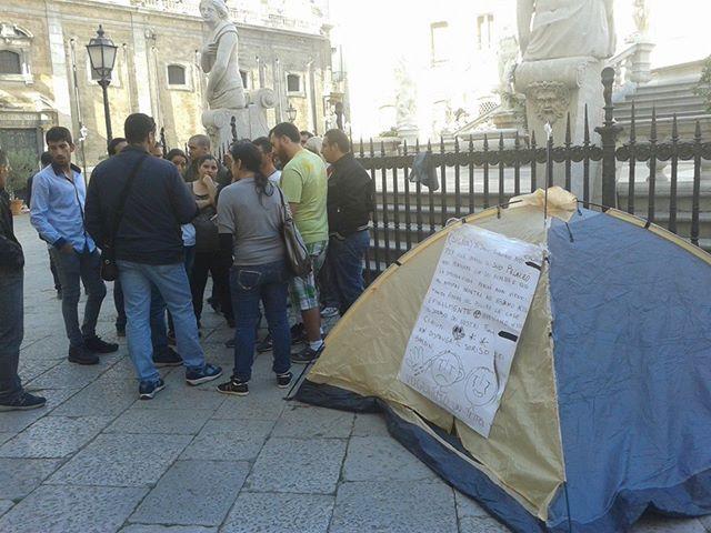 Palermo, sei famiglie senza casa occupano un convento dei Benedettini