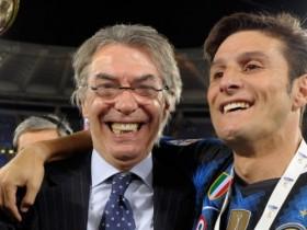 Moratti, lascia Moratti, Moratti lascia l'Inter, Serie A