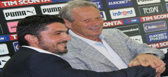 """Gattuso ringhia: """"Zamparini? Un ipocrita incompetente"""""""