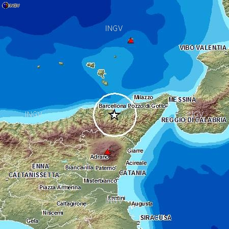 Ennesima scossa di terremoto nel Messinese: nessun danno registrato