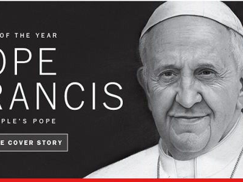 persona dell'anno person of the year papa francesco time