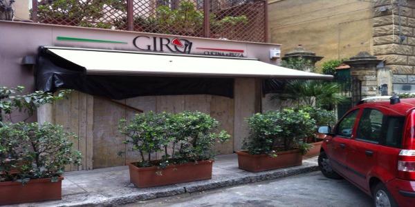Benzina alla pizzeria Giro di via XII Gennaio a Palermo | I vigili del fuoco evitano la distruzione del locale