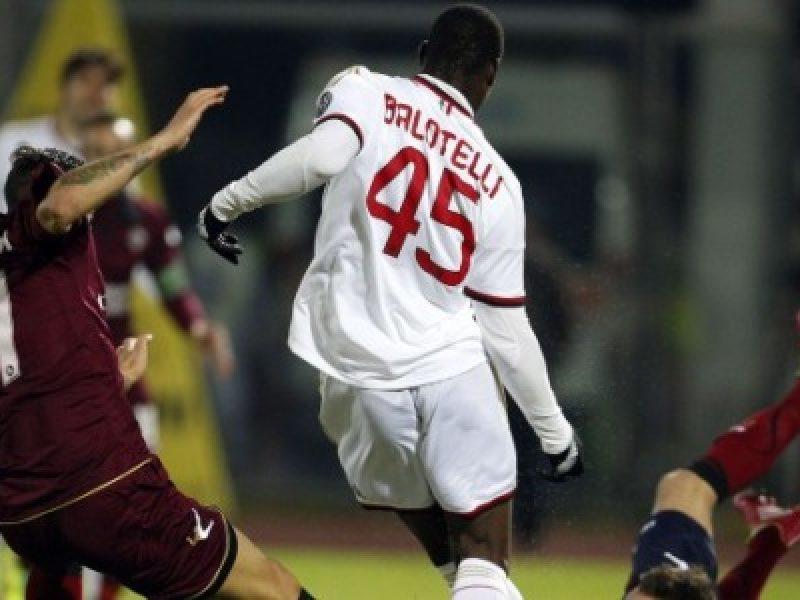Mario Balotelli Livorno Milan 2-2