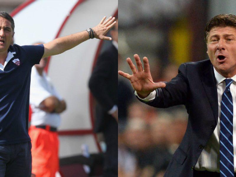 Roberto Boscaglia Walter Mazzarri Inter Trapani coppa Italia 4 dicembre 2013