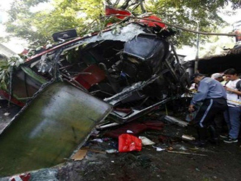 incidente pullman manila 22 morti filippine