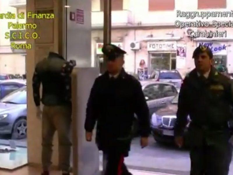 niceta operazione guardia di finanza, noto imprenditore palermitano, video oeprazione sequestro mafia, matteo messina denaro