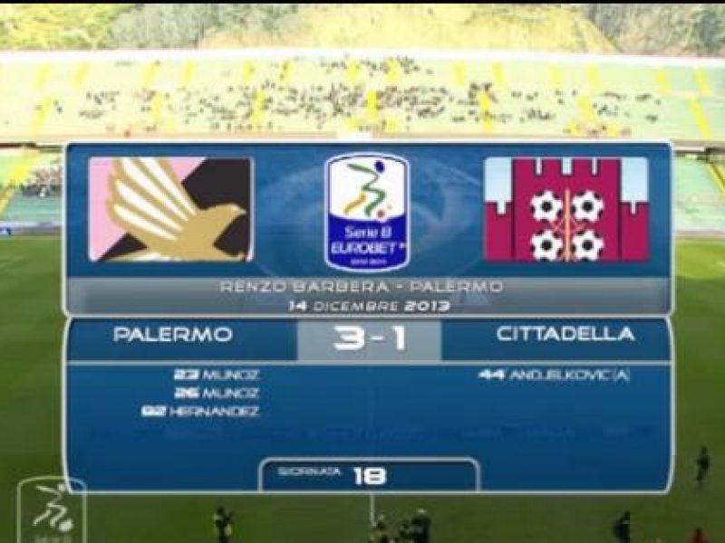Palermo-Cittadella 3-1