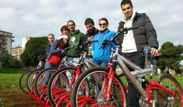 Palermo, tre nuove rastrelliere per bici al Parco Uditore
