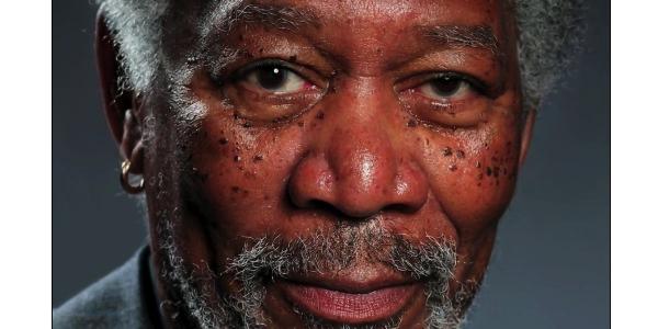 Morgan Freeman ritratto in una foto. Oppure no?