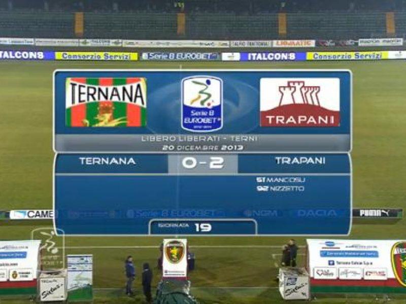 Ternana-Trapani highlights sintesi