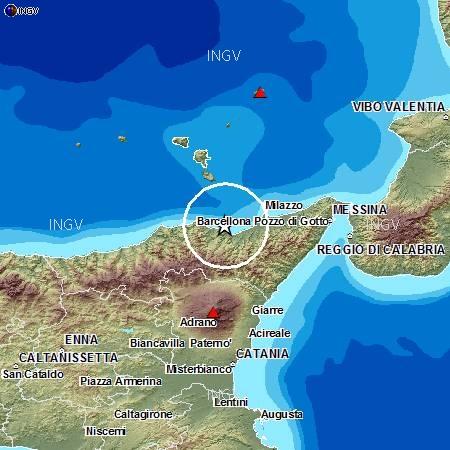 La terra trema ancora nel Messinese: altre tre scosse tra Falcone e Patti