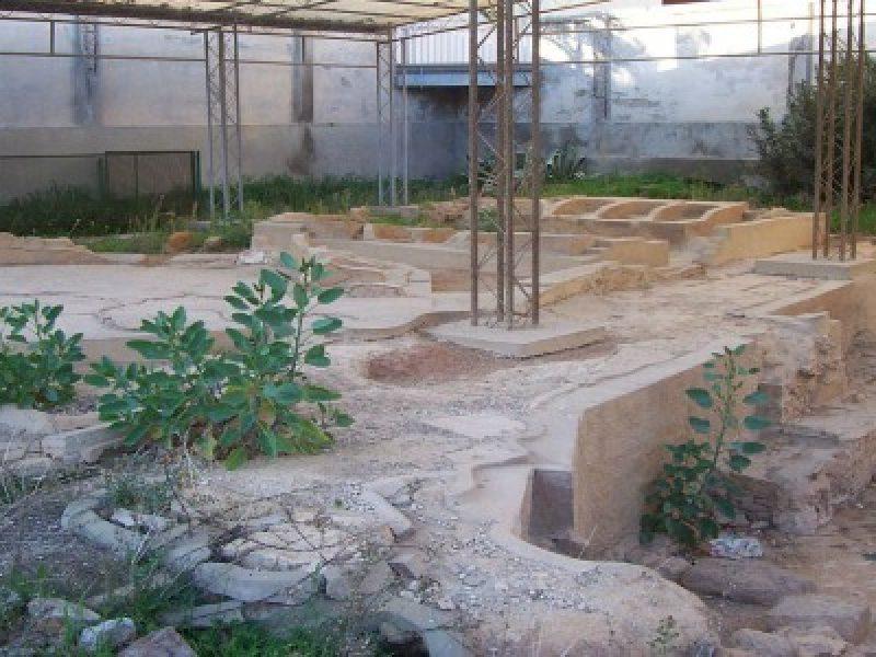 pulizia antichi bagni greci