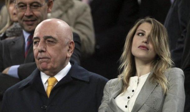Milan, Galliani e Barbara a braccetto nella nuova società