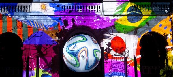 """""""Brazuca"""", il pallone dei Mondiali 2014"""
