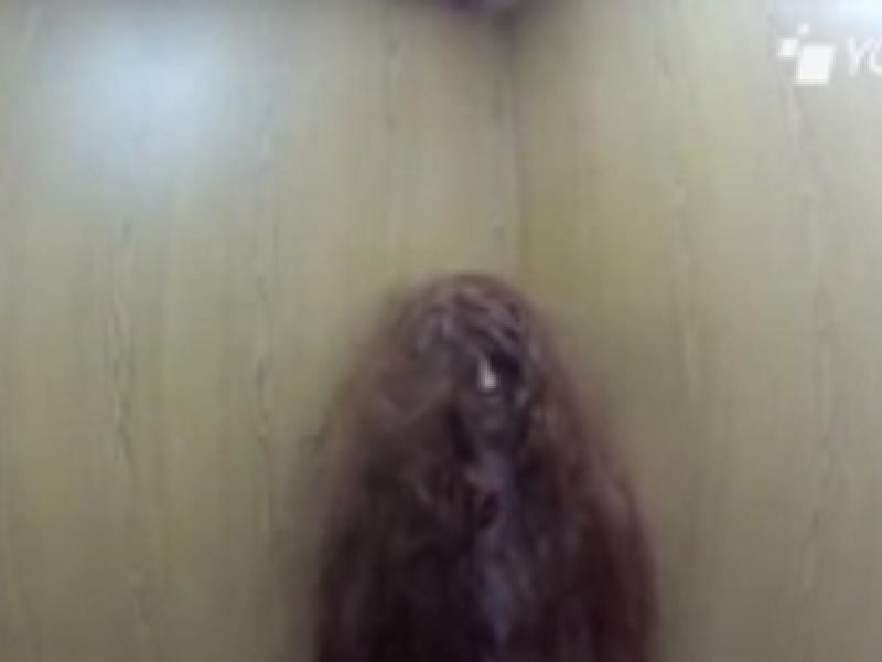 candid camera bambina horror