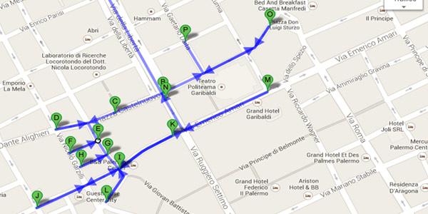 Capodanno a Palermo, la mappa delle strade chiuse