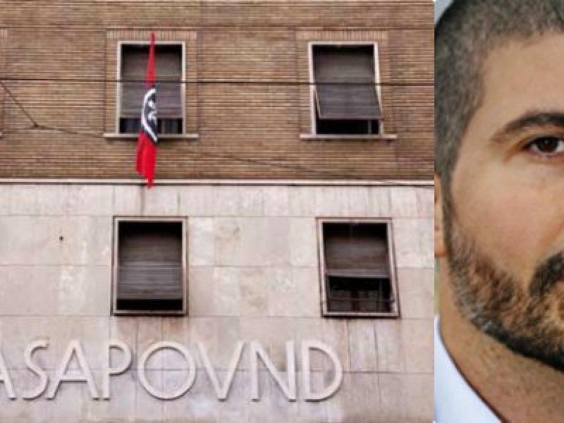 casapound simone di stefano scarcerato condanna tre mesi