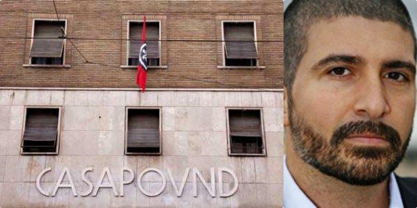 Arrestato il vice presidente di CasaPound   dopo il blitz nella sede dell'Ue a Roma