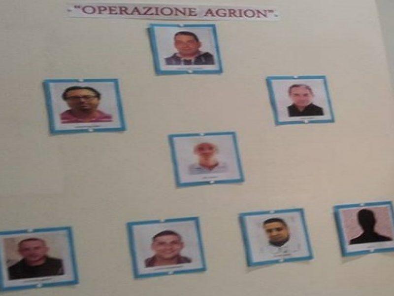 clan della noce, pizzo, 8 arrestati, foto, clan noce, foto clan della noce, arrestati, martellate, vincenzo di cristina gambizzato