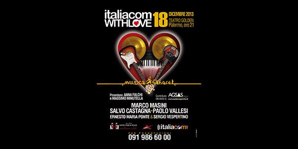 """Torna a Palermo la quarta edizione di """"Italiacom with love"""""""