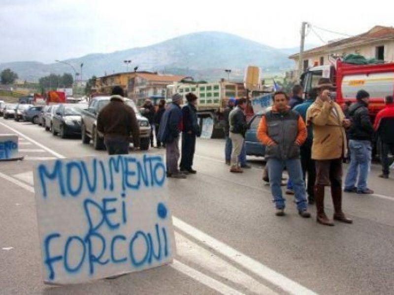 forconi, protesta, arresti puglia andria barletta