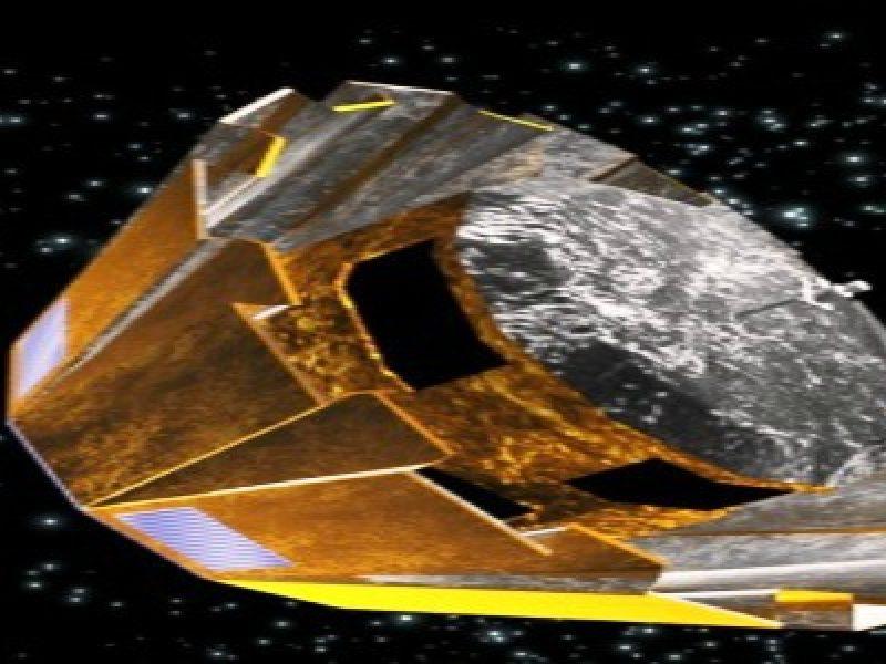 mappa 3d dello spazio satellite gaia