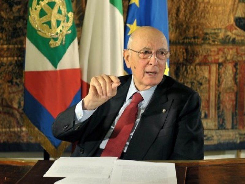 Giorgio Napolitano, dimissioni, quirinale